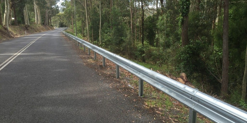 ramshield guardrail installation on 4 separate projects across nsw