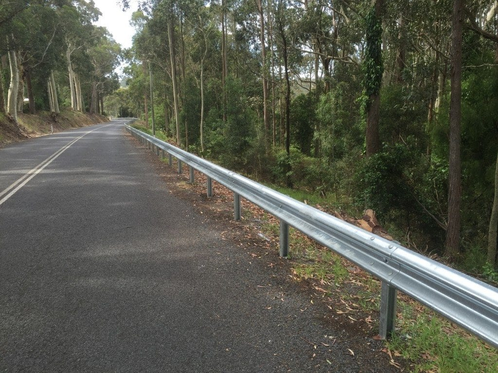 ramshield guardrail installation on 4 separate projects across nsw