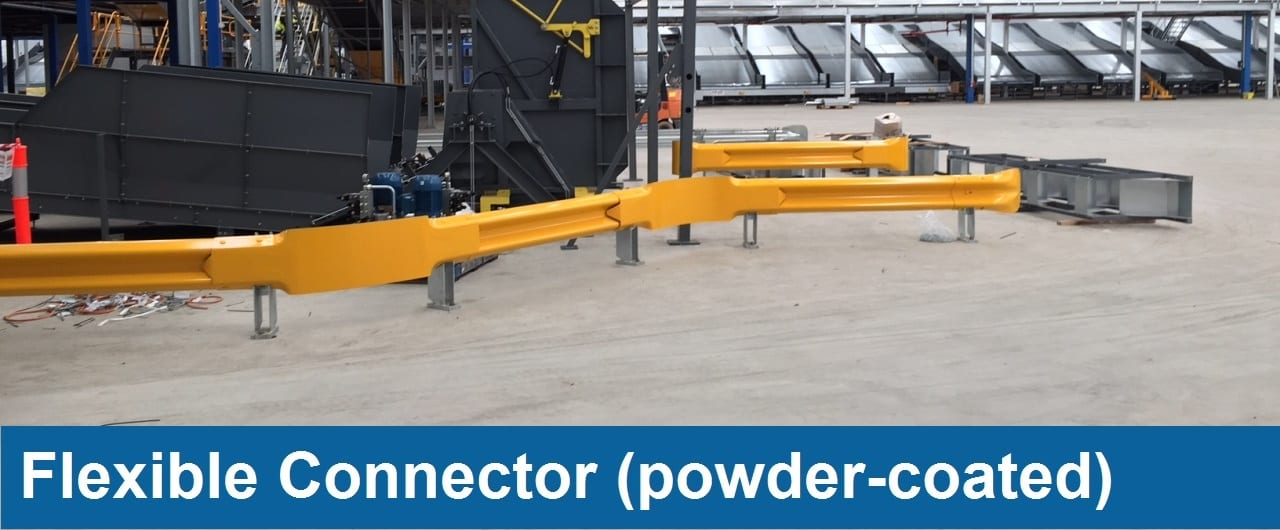 flexible connector warehouse barriers accessory