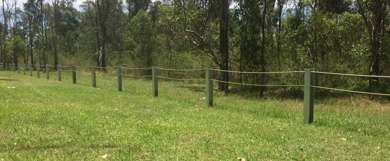 land perimeter boundary fencing