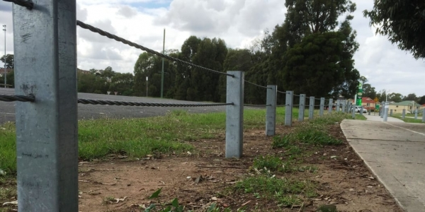 boundary fencing for pathway safety