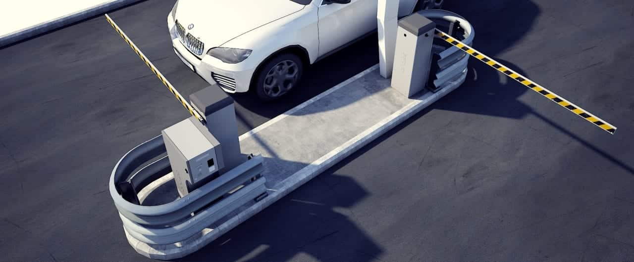 column guard to protect car park valuable assets