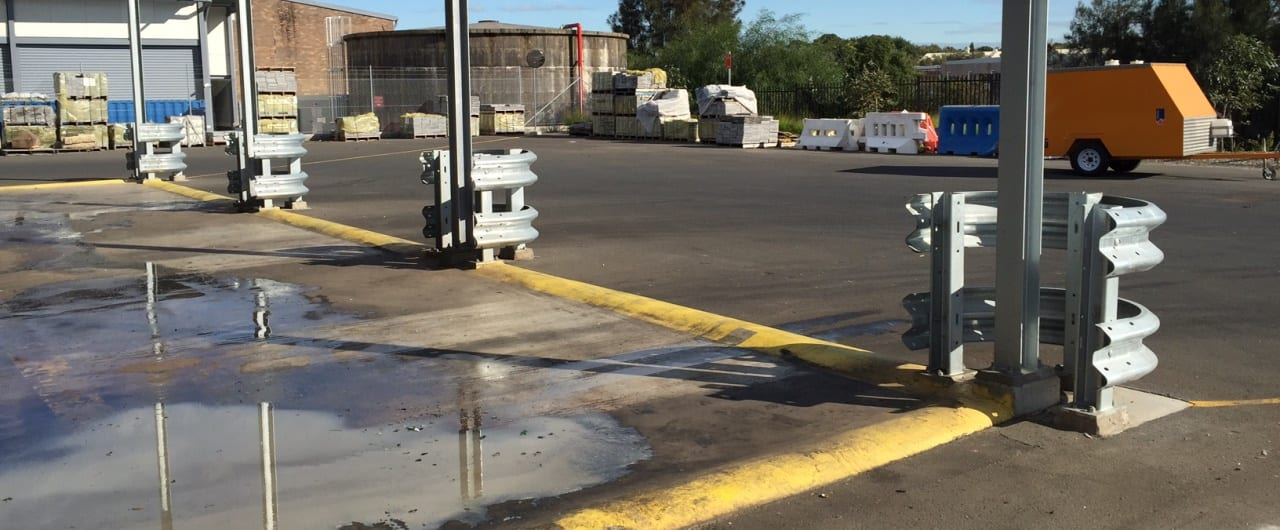 column guard warehouse barriers