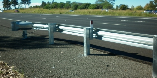 departure terminal road safety barrier
