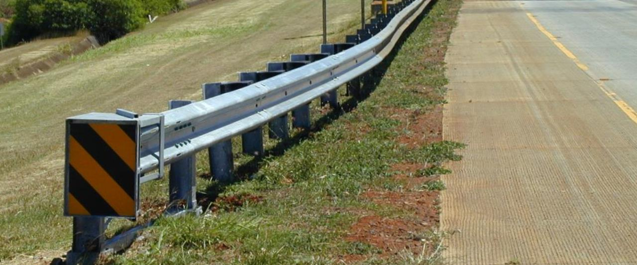 fleat end terminal road barrier