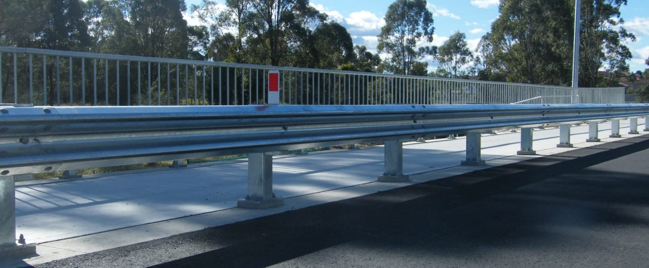 w beam guardrail road traffic barrier