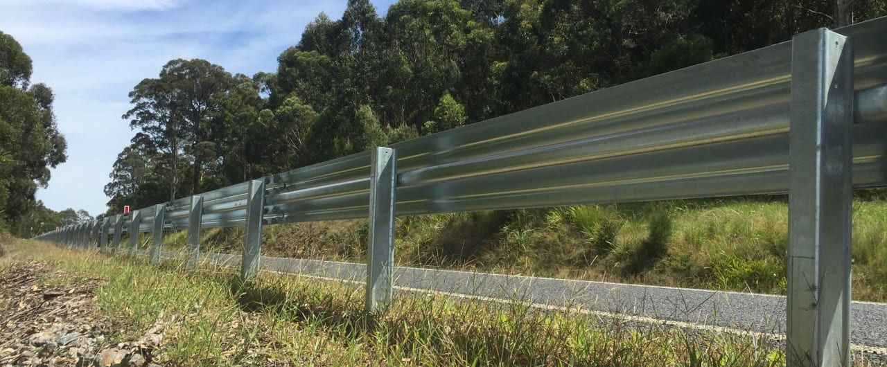 ramshield guard rail road barrier
