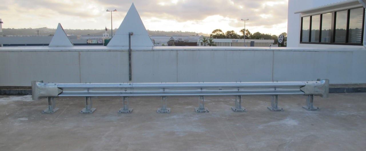 rhino stop 240 heavy duty warehouse fork lift protection