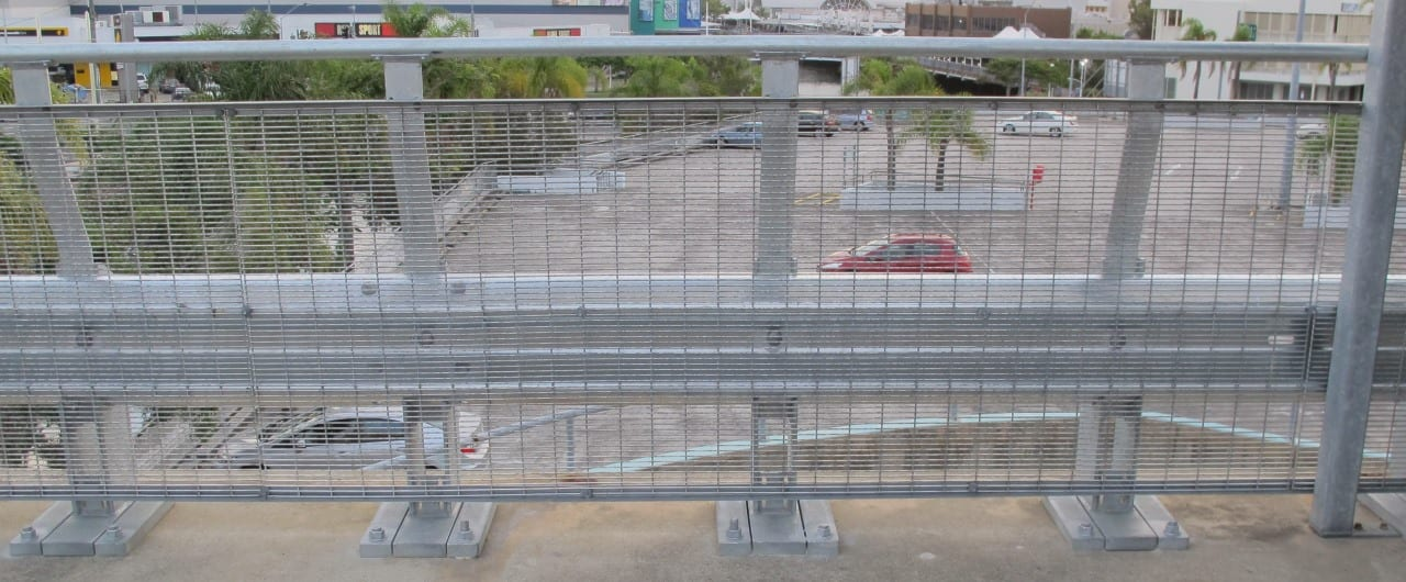 rhino stop 240 car park fall protection safety barrier