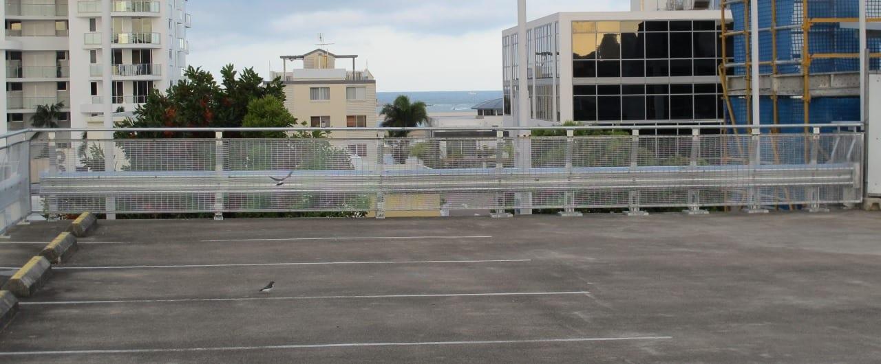 rhino stop 240 heavy duty car park barriers