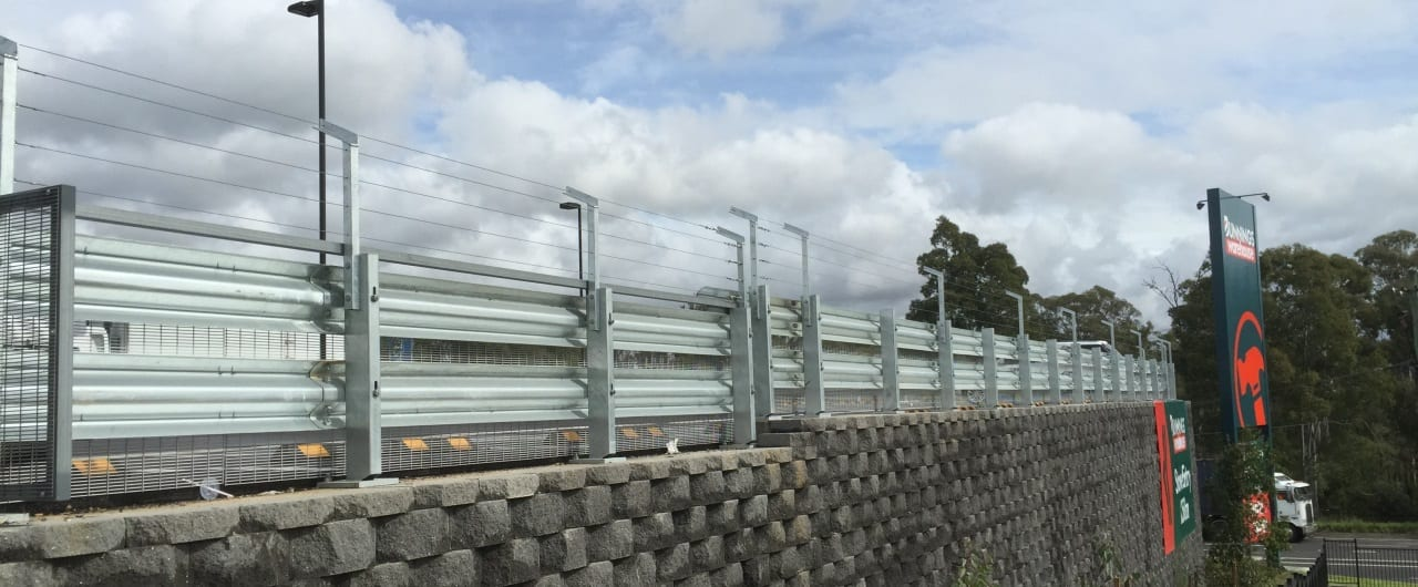 rhino stop truck guard edge perimeter safety barrier