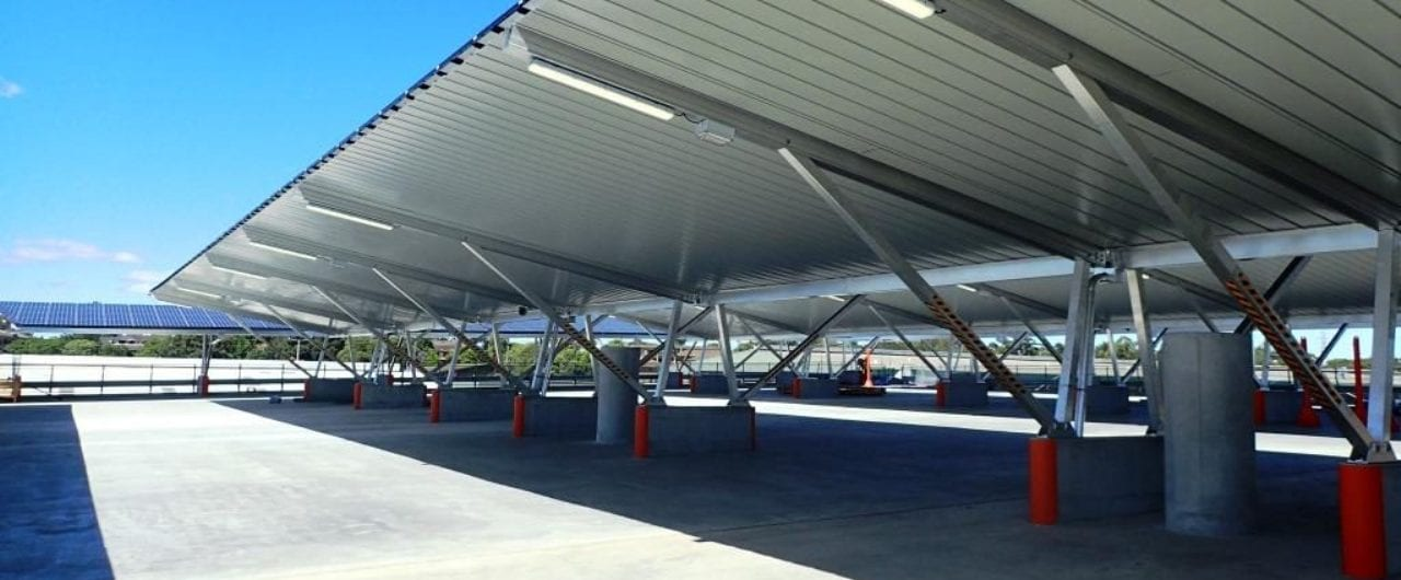 safety barrier upgrade to 2 levels sydney market car parkrk