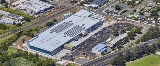 bunnings bellambi safety barrier systems project