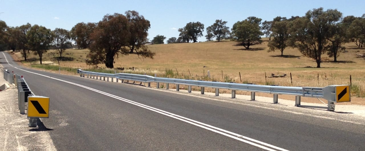 supply of w beam guardrail for cabonne council road project