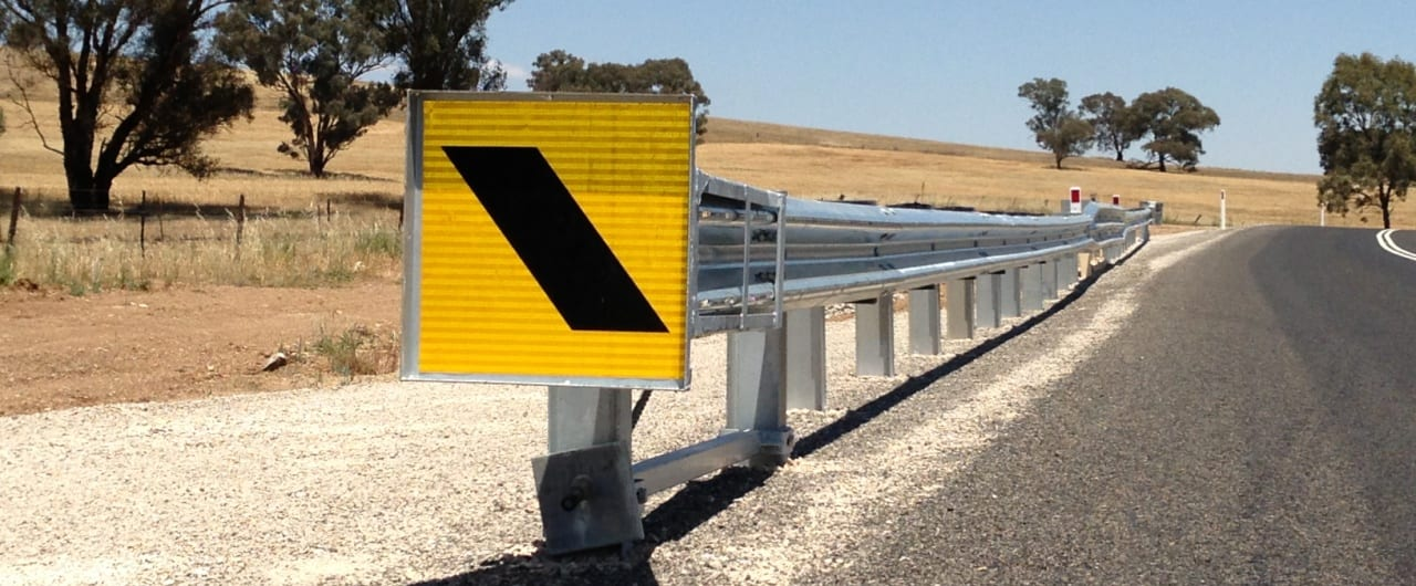 safe direction guardrail safety barrier preferred by cabonne council road projects
