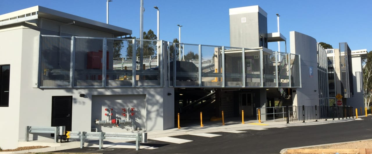 rhino stop the preffered safety barrier option at canley vale commuter carpark