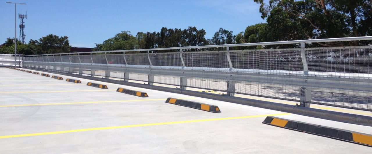400m rhino stop sky edge installation at coles toroonga carpark
