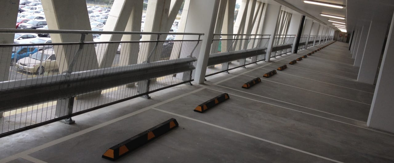 car park barrier systems project at coles toroonga carpark