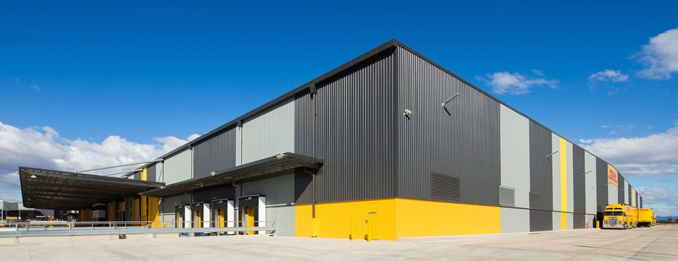 safety barrier systems project at dhl supply facility