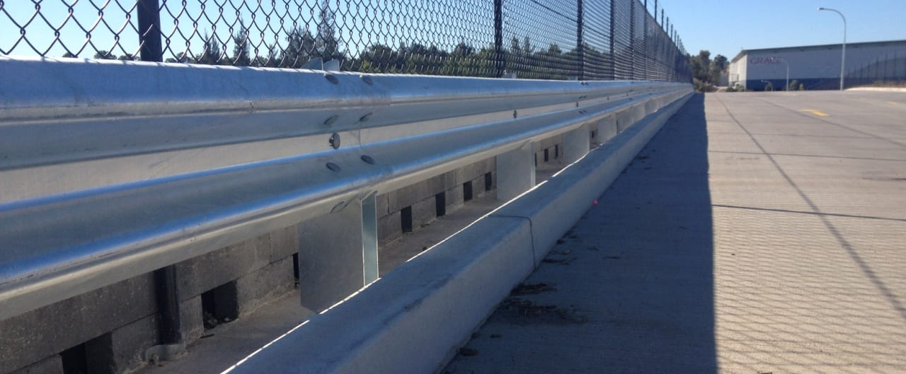 rhino stop safety barrier systems at grace records facility