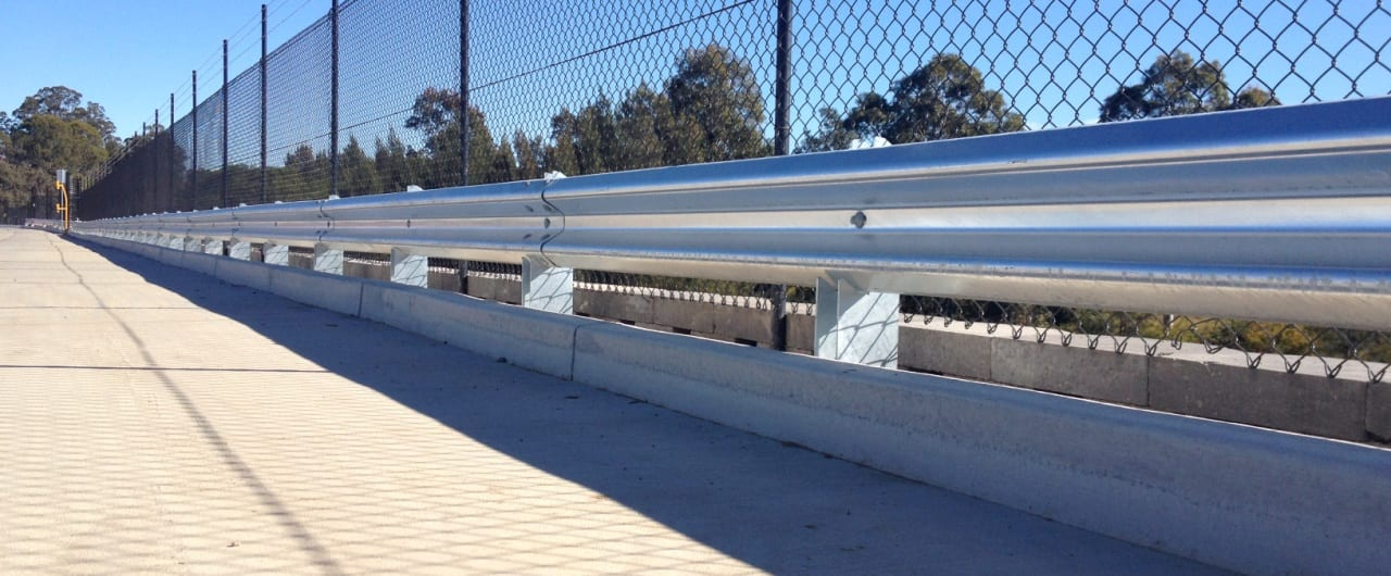 grace records perimeter edge protection with rhino stop warehouse barrier