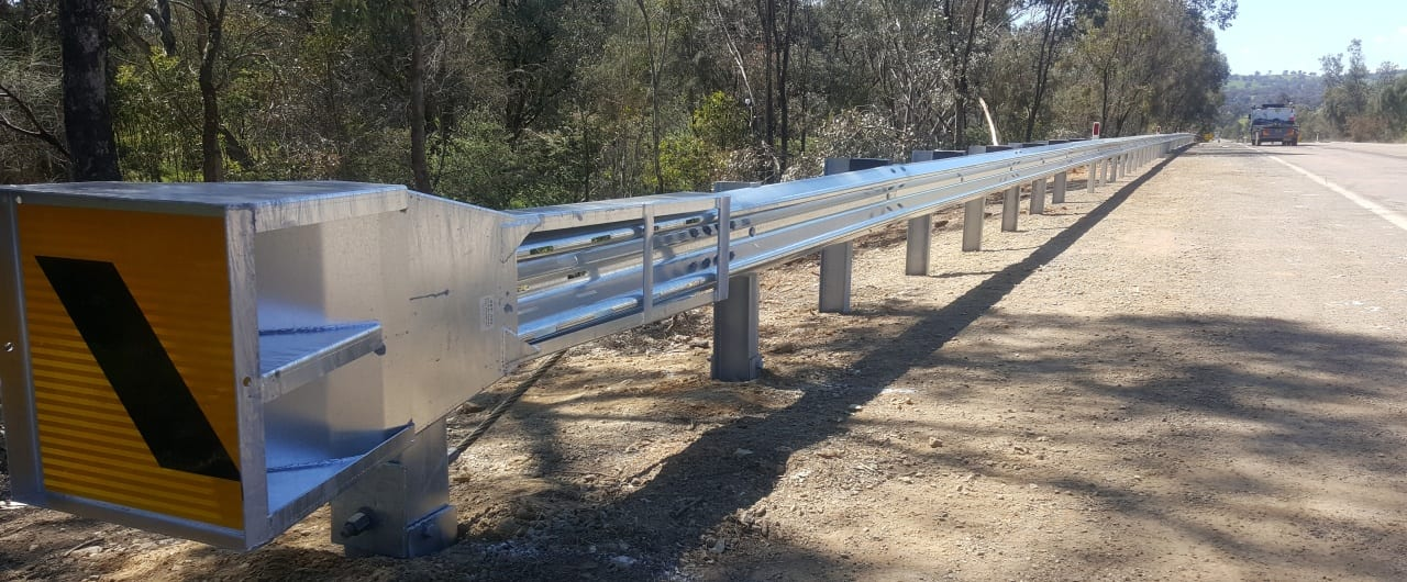 ramshield guardrail on hume highways for the prevention of run off the road accidents