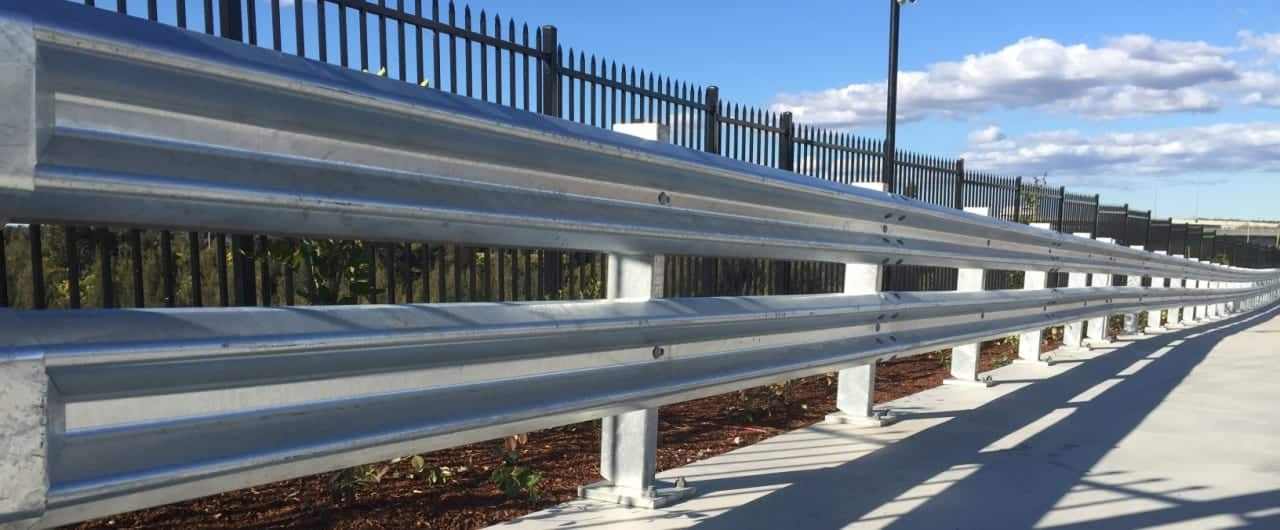 safety barrier systems project at interchange drive eastern creek