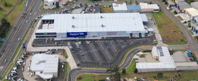 16000 sqm rhino stop car park barrier project at masters albion park