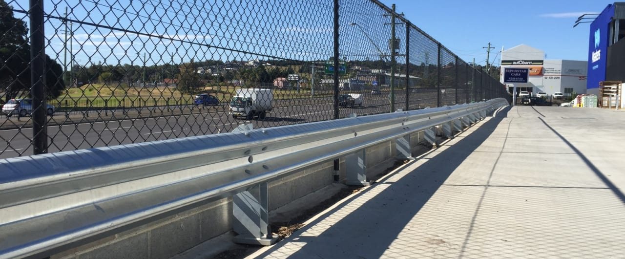 rhino stop installation project at masters albion park