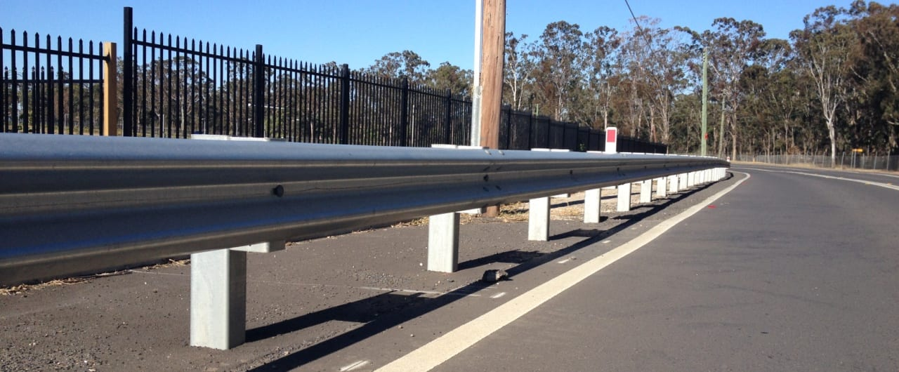 w beam guardrail for reconciliation road crash safety barrier