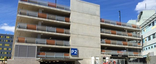 royal north shore hospital 7 level car park barrier project