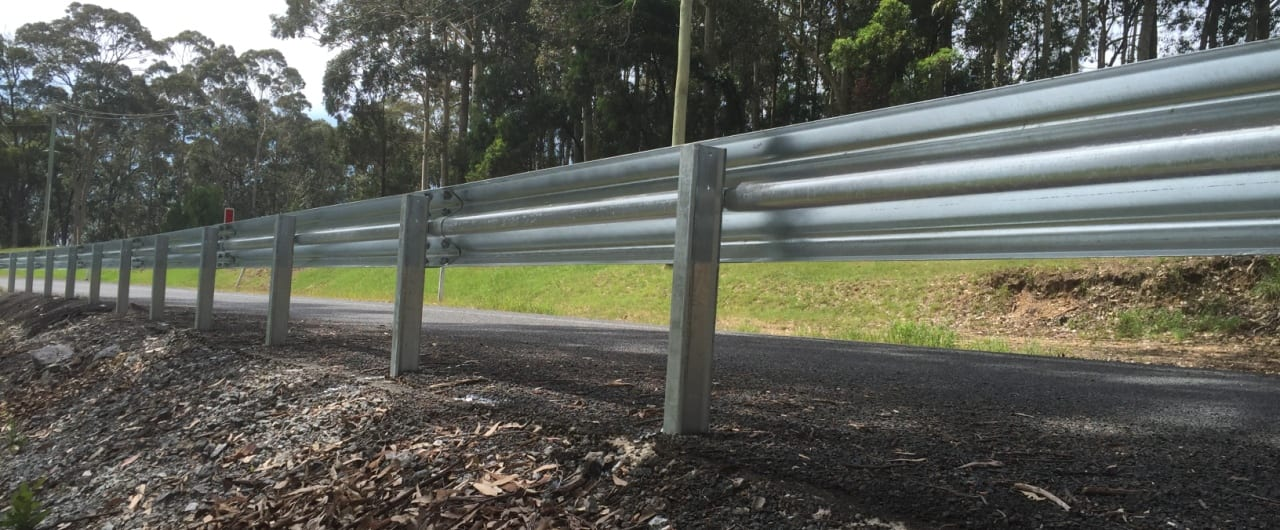 ramshield guardrail for southern nsw roadside hazard protection