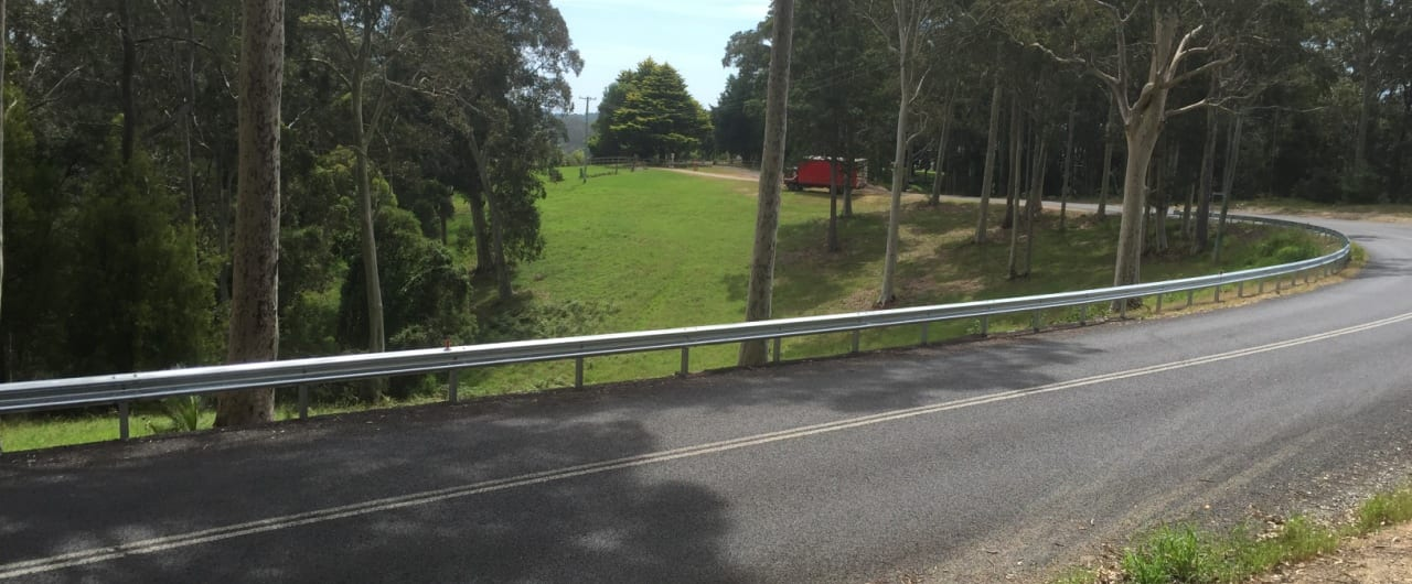 ramshield guardrail installation at southern nsw