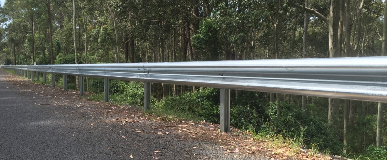 southern nsw road safety with ramshield guardrail
