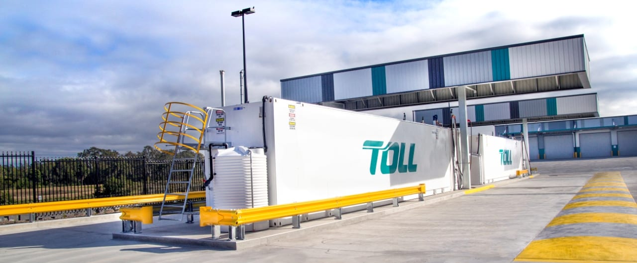 toll warehouse plant equipment protection with rhino stop barrier
