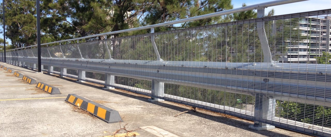 rhino stop type 4 installation on wollongong council car park