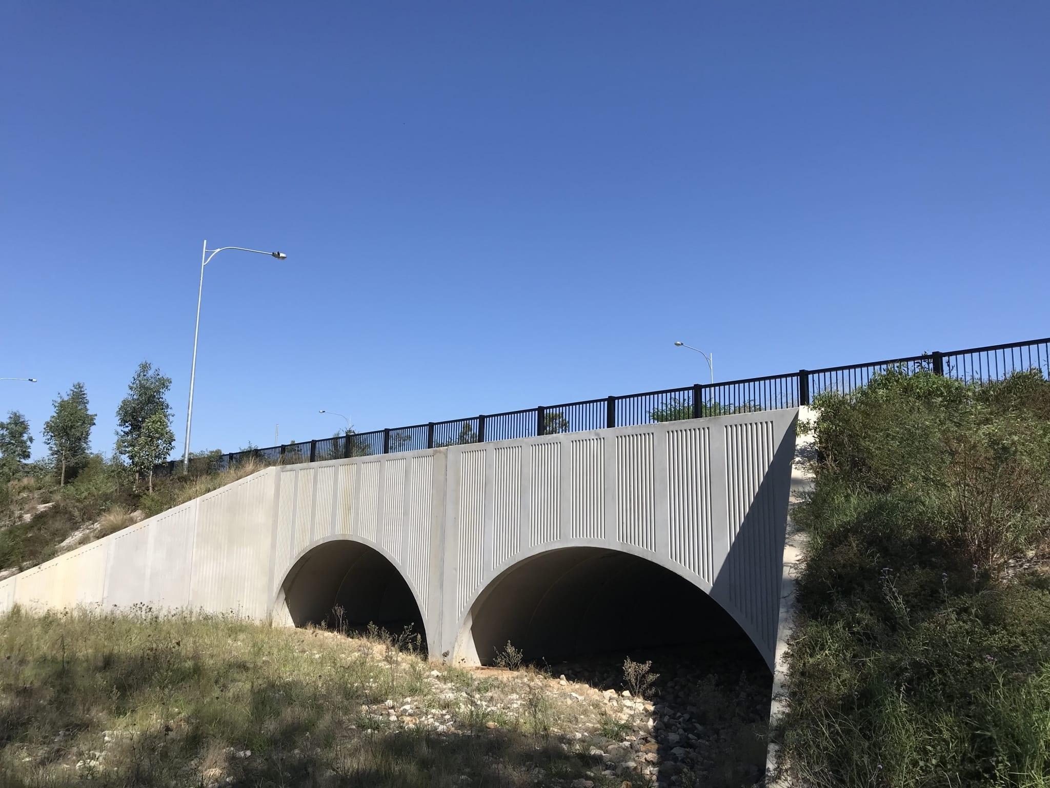 bridge perimeter edge protection with rhino stop elite