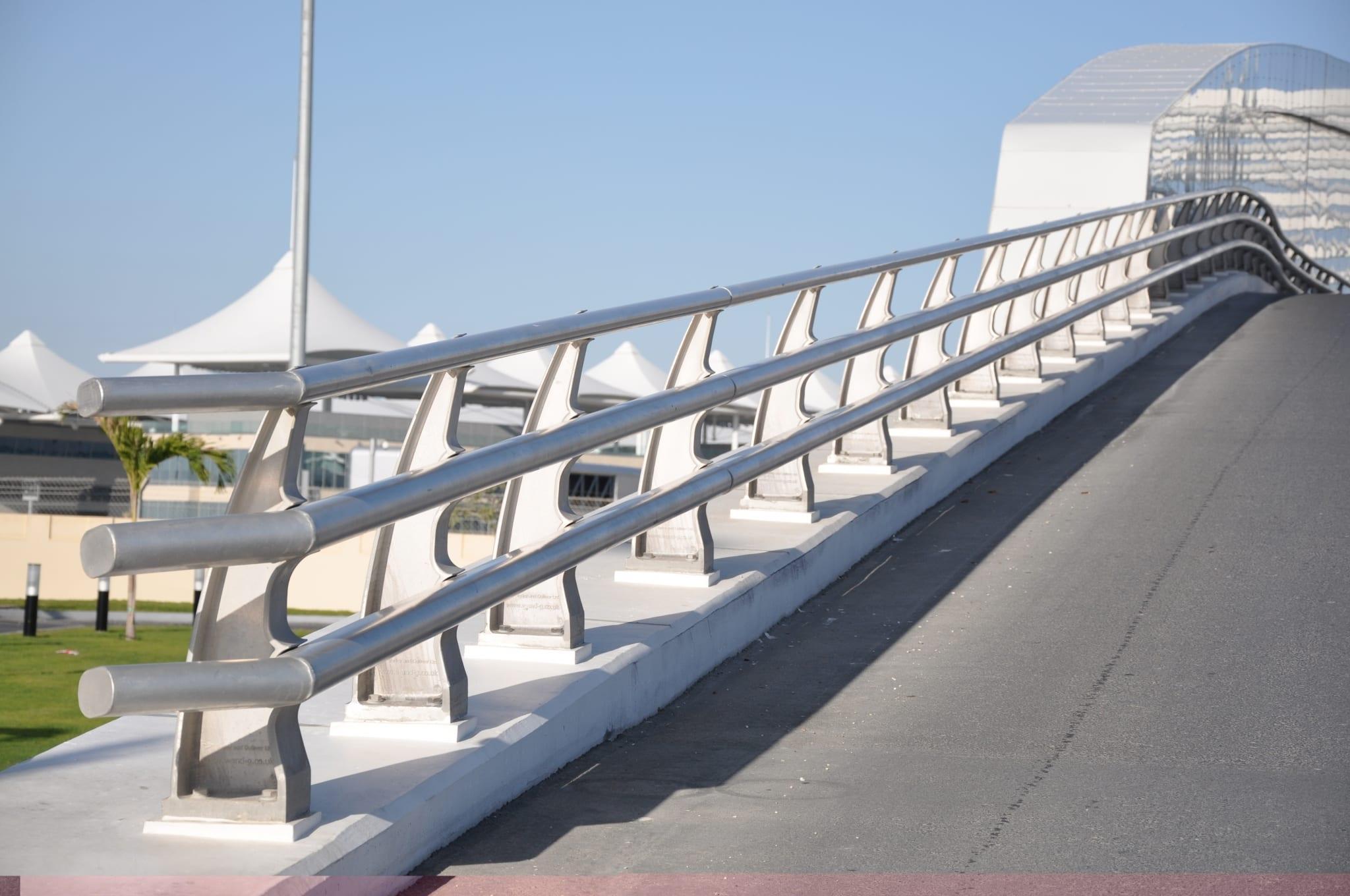 bridge safety barrier