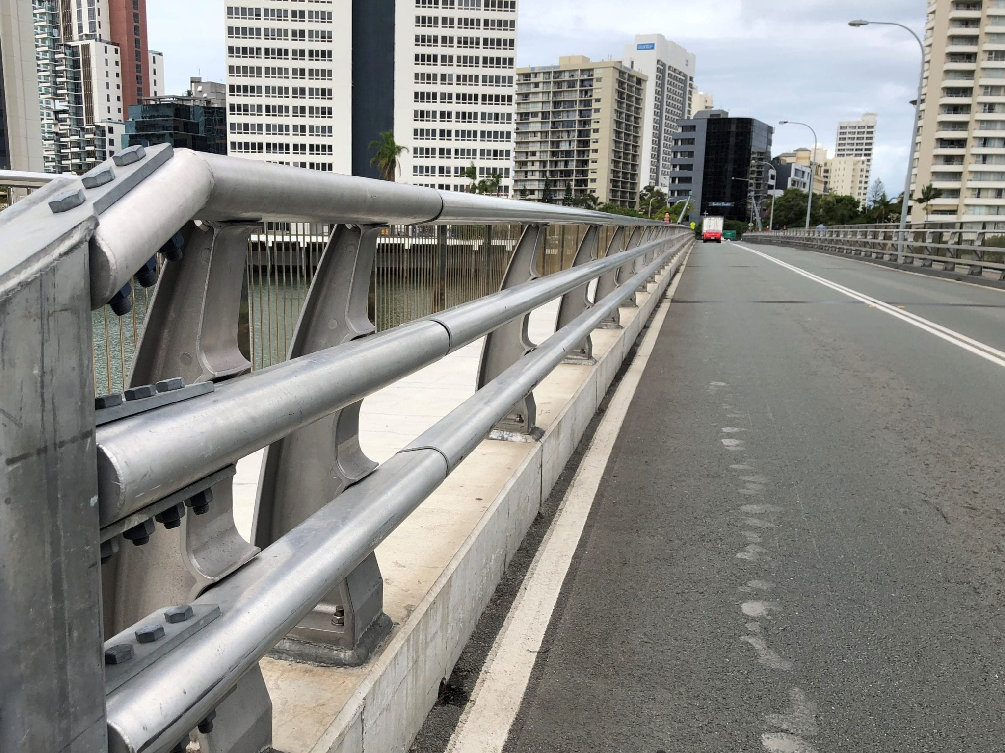 safe direction bridge barrier