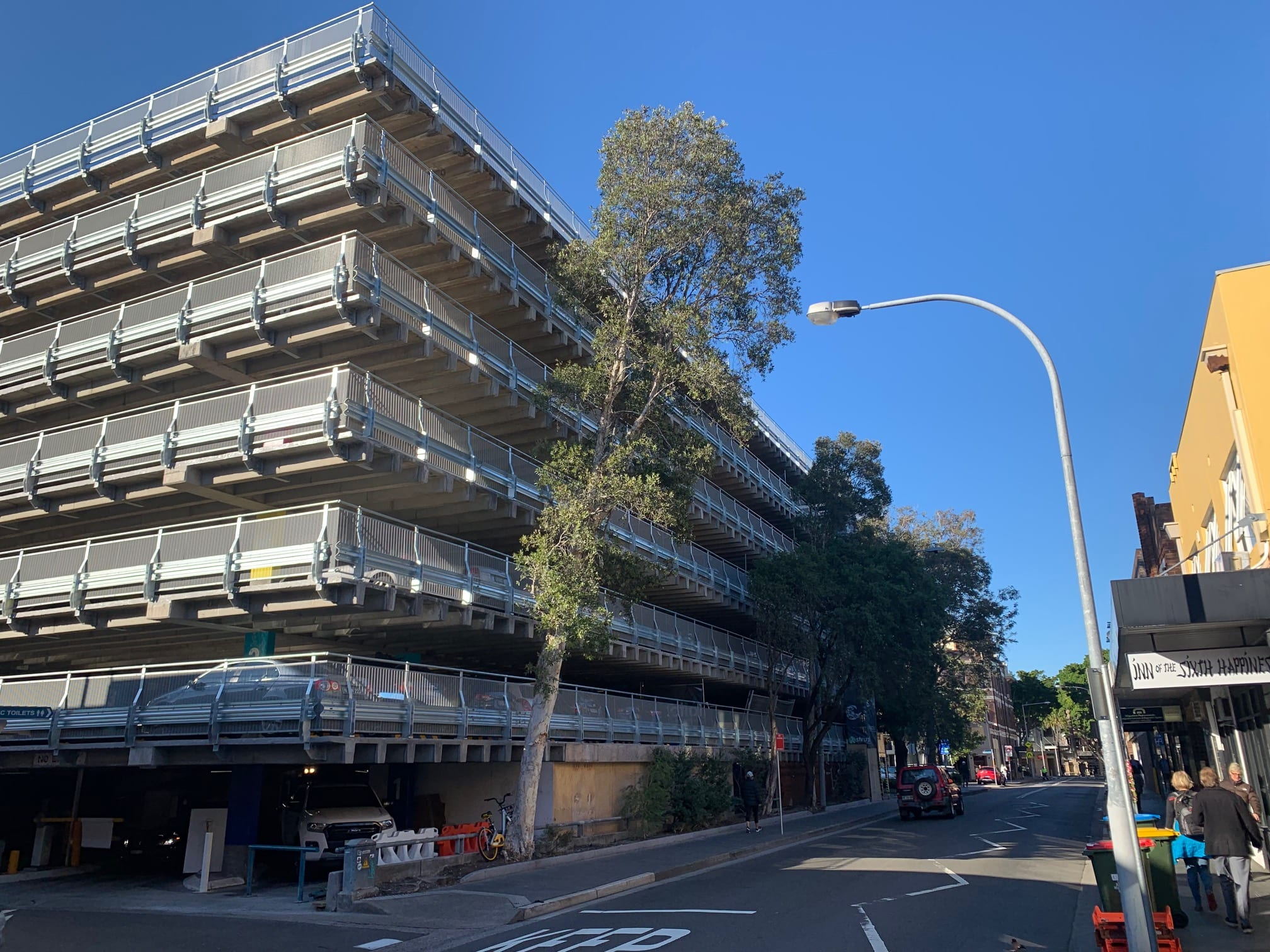 rhino stop barrier systems upgrade at manly car park