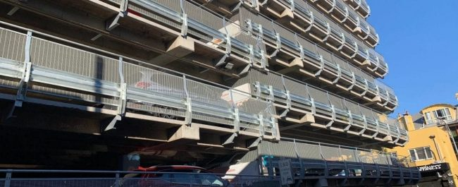 rhino stop safety barriers upgrade project at whistler street manly car park