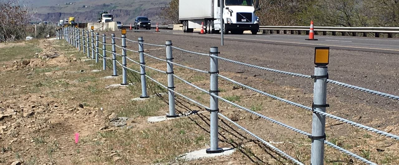 brifen tubular posts are placed within sockets