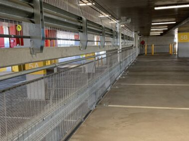 Campbelltown Hospital car park with RHINO-STOP barrier