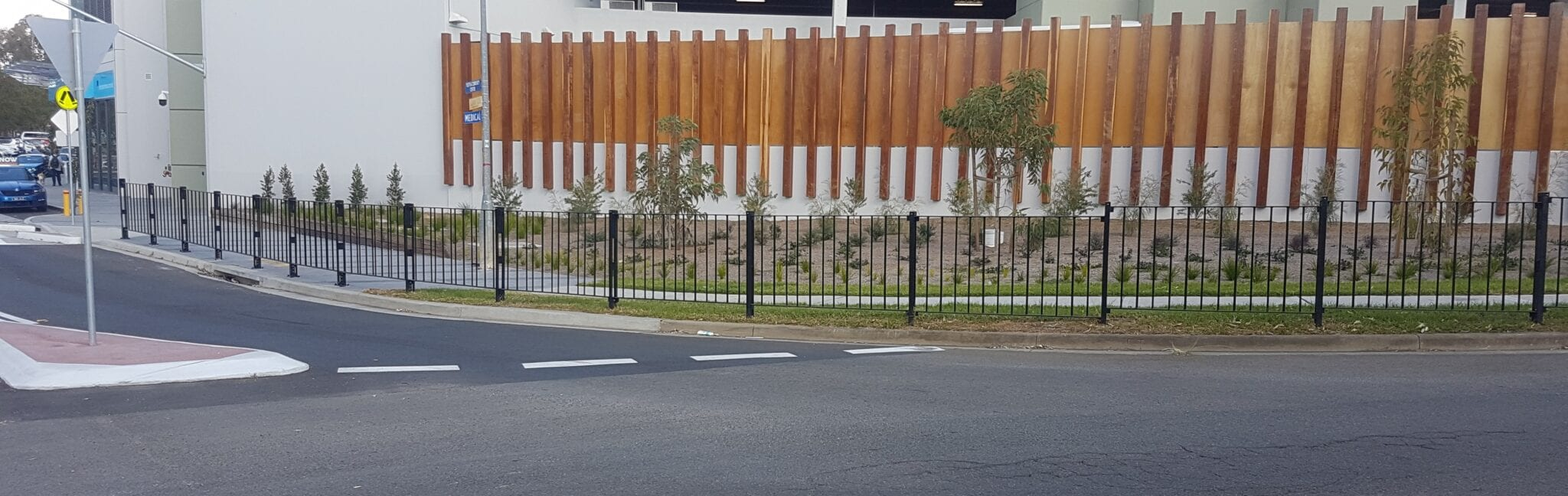 Pedestrian barriers from Safe Direction