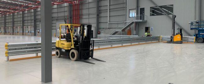 CEVA Logistics Warehouse Barrier Project