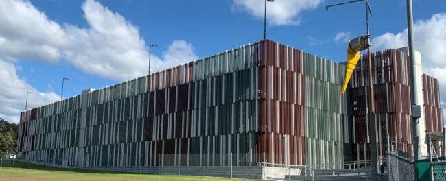 Shoalhaven Hospital car park safety barrier project
