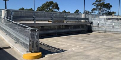RHINO-STOP car park barrier project at Campbelltown Hospital