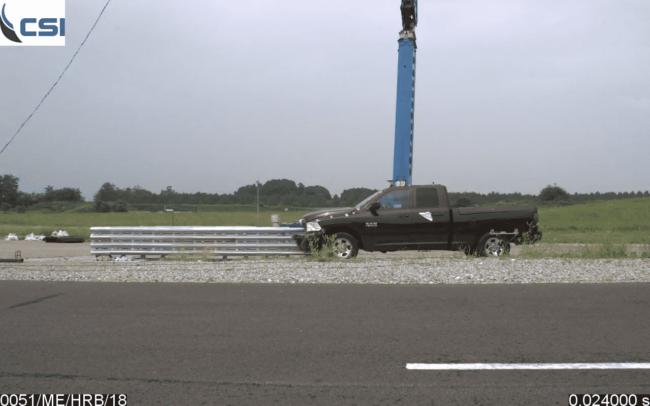 safe direction's new hercules mash crash cushion safety barrier