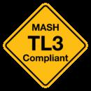 MASH TL3 Compliant Logo
